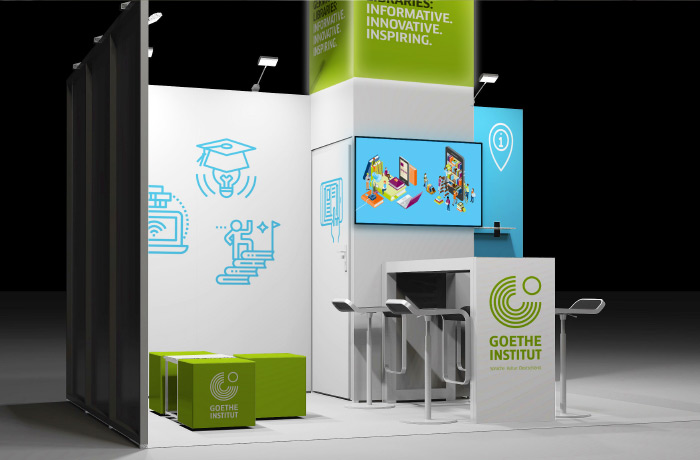 Goethe-Institut: Modular Fair Stands